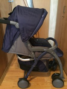 Прогулочная коляска Chicco Simplicity Plus Top Blue Passion