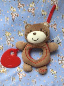 "Погремушка Chicco Медвежонок ""Sweet Love Teddy"""