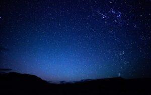 звезды на синем небе