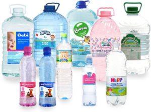 бренды питьевой воды 0+