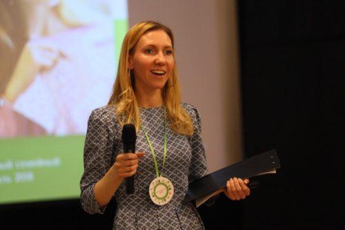 Ирина Данилова, режиссёр, автор книги «Мирусина азбука», ведущая эколекций