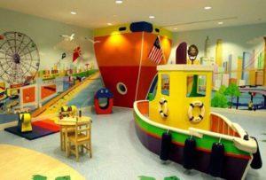 Детские игровые комнаты в Москве