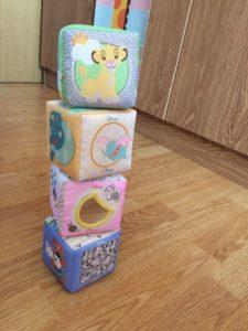 Мягкие кубики Chicco