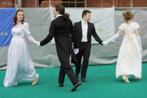 Исторические танцы — пушкинская эпоха