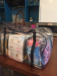 """Готовая сумка в роддом """"Аистёнок"""""""