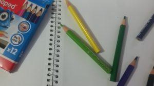 Мини цветные карандаши Maped PULSE