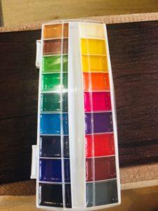 Краски акварельные ERICH KRAUSE ArtBerry 18 цветов