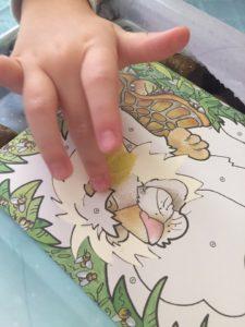 Набор для творчества с цветным песком Orange Elephant