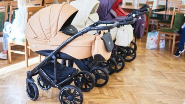 Репортаж о колясках от интернет-магазина Айчадо.рф, Playdate, октябрь 2018