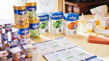 Репортаж о йогуртах Fruttis от компании Campina и смеси Friso, Playdate, октябрь 2018