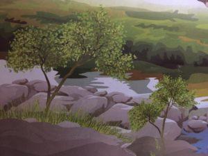 Где растут маленькие деревья?