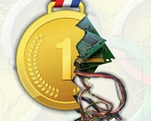 5. Медали на Олимпиаду, которая пройдёт в 2020 году из электронных отходов