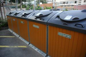 финские мусорные баки