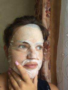 Тканевая маска для лица Garnier Фреш-Микс Концентрат с витамином С